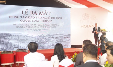Pegasus attended inauguration ceremony of Quang Nam Hoiana Tourism Vocational Training Centre
