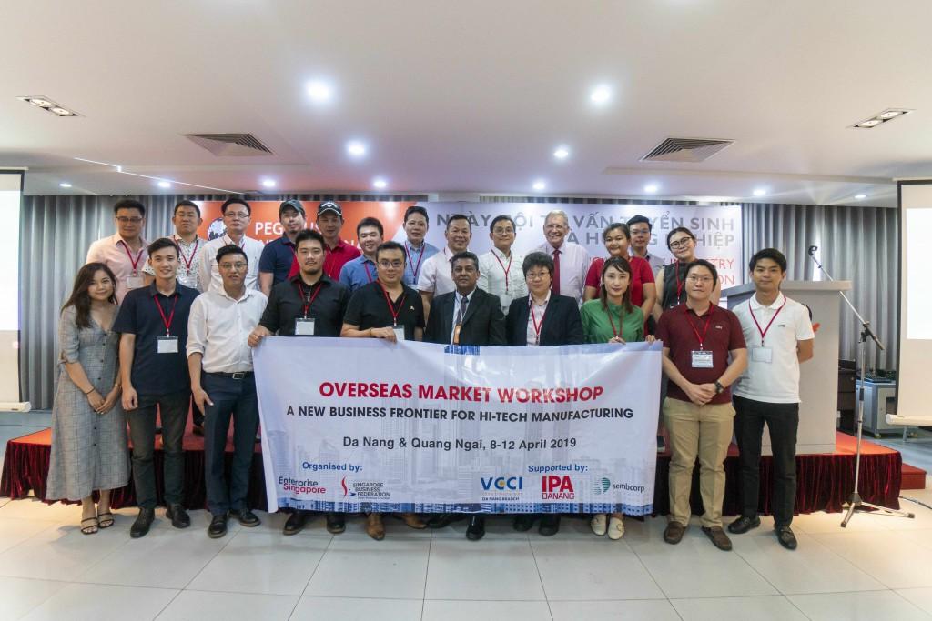 Hội Thảo Quốc tế được tổ chức bởi Hiệp hội các Doanh nghiệp Singapore và Ban hỗ trợ và Xúc tiến đầu tư thành phố Đà Nẵng