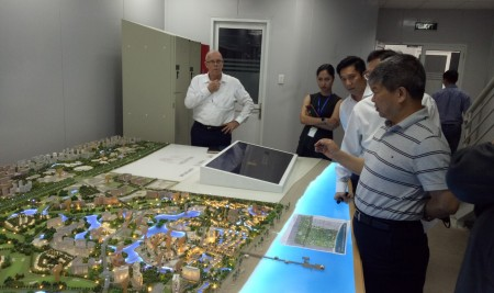 Chairman of KinderWorld Education Group Visits Hoi Ana Resort Project