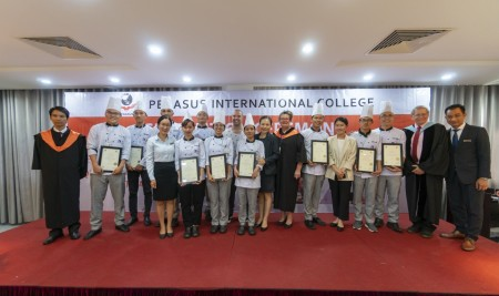 GRADUATION CEREMONY FOR CERTIFICATE III IN HOSPITALITY – NOREC EXCHANGE PROGRAMME 2018
