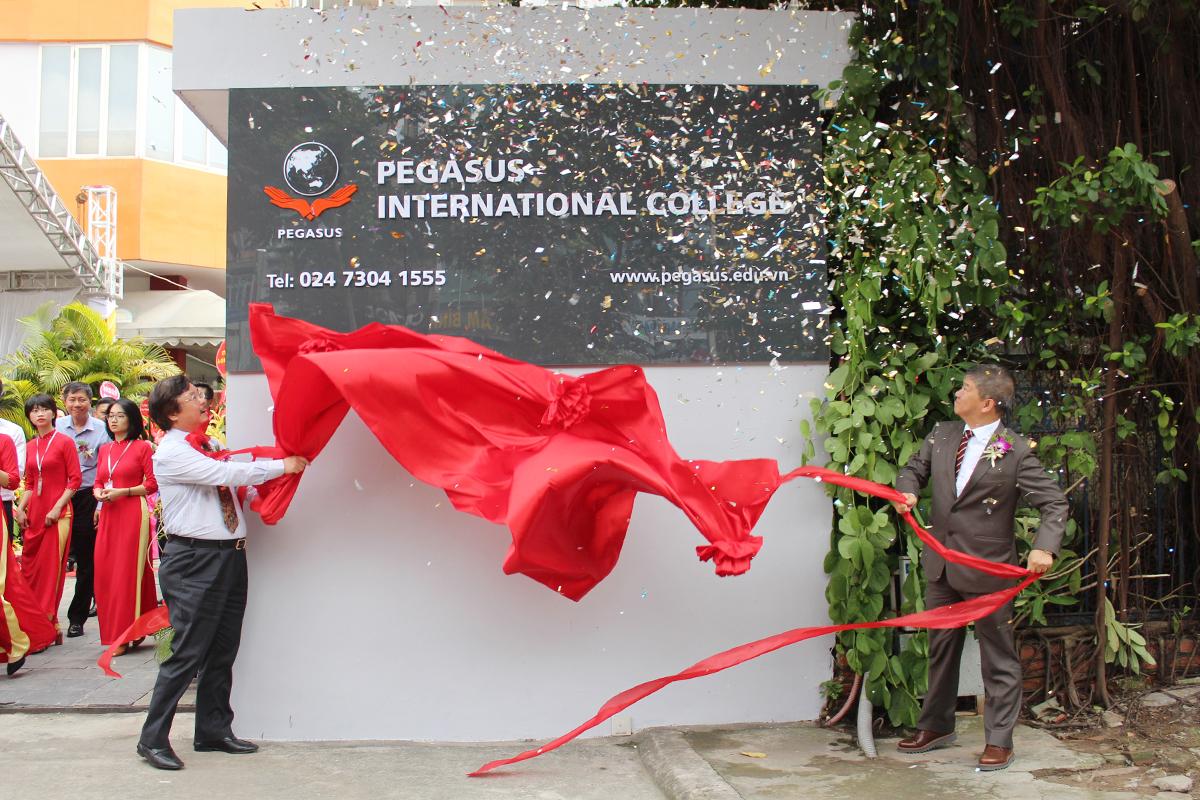 Lễ khai trương Phân hiệu trường Cao đẳng Quốc tế Pegasus tại Hà Nội