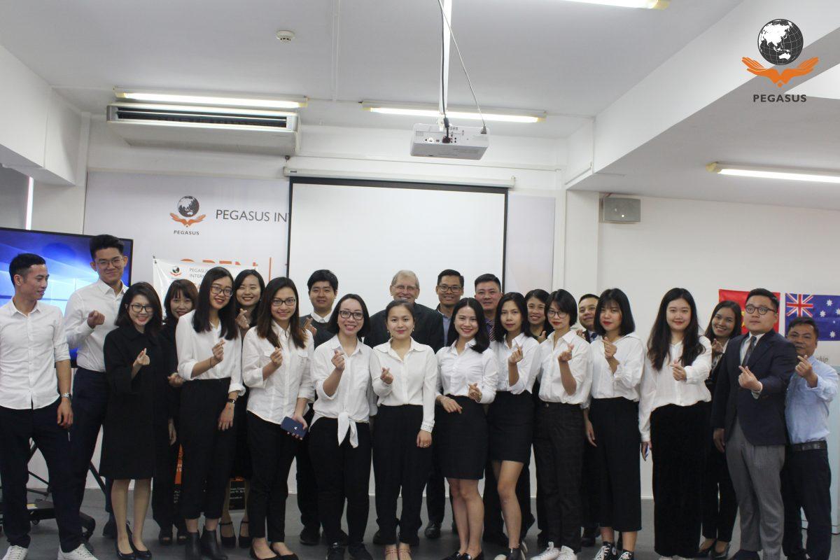 Khai giảng AQF tại Pegasus Hà Nội